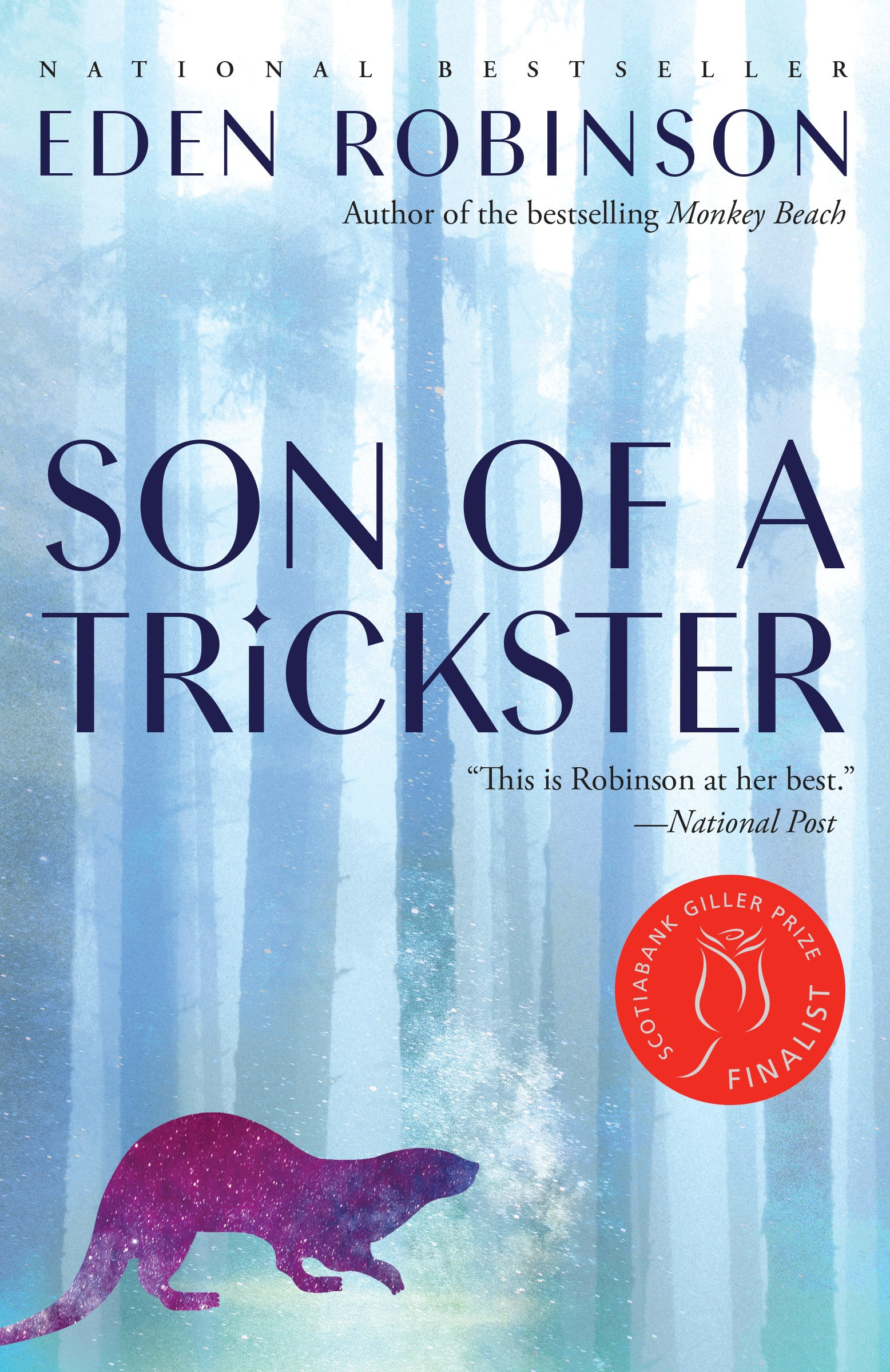 Son of a Trickster trade paperback edition