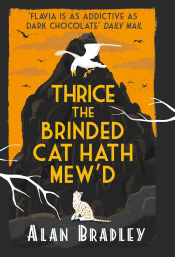 Thrice the Brinded Cat Hath Mew'd - UK cover