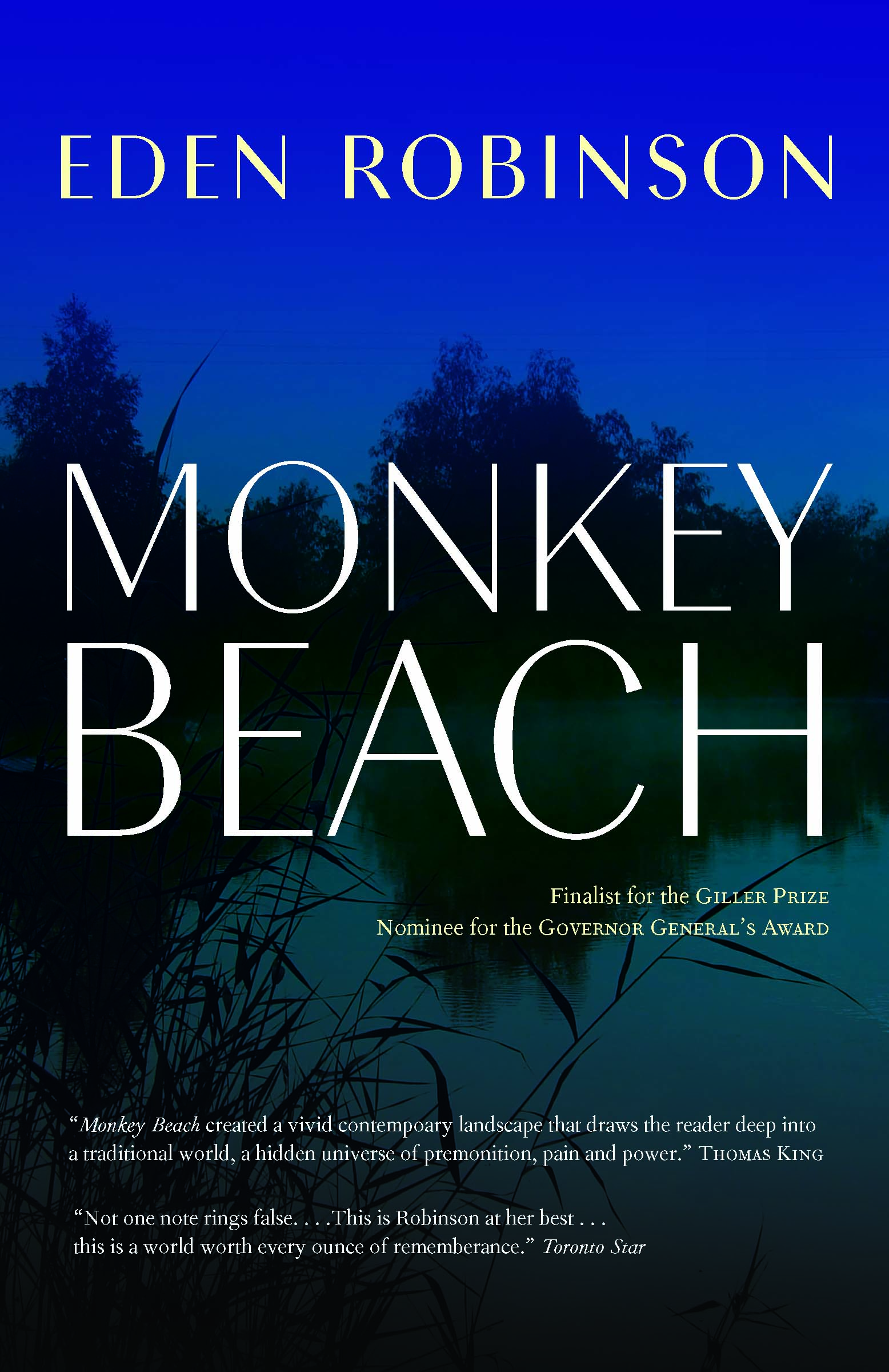 Monkey Beach new cover